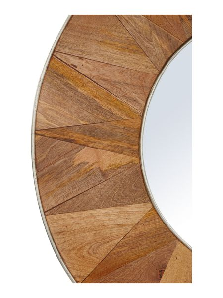 Living by Christiane Lemieux Thea wooden mirror
