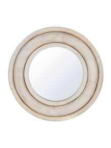 Linea Athena Carved Wooden Mirror