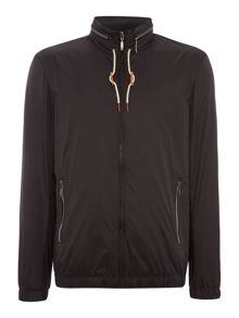 Sisley Men Zip Through Bomber Jacket