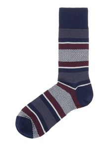 Barbour Graduation Stripe Sock