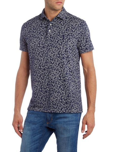 Polo Ralph Lauren Short-Sleeve custom fit floral jersey polo