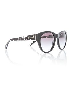 Black cat eye HC8167 sunglasses