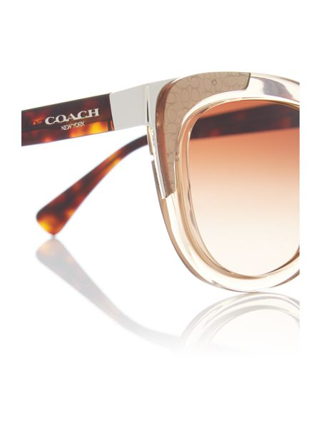Coach Light brown square HC8171 sunglasses