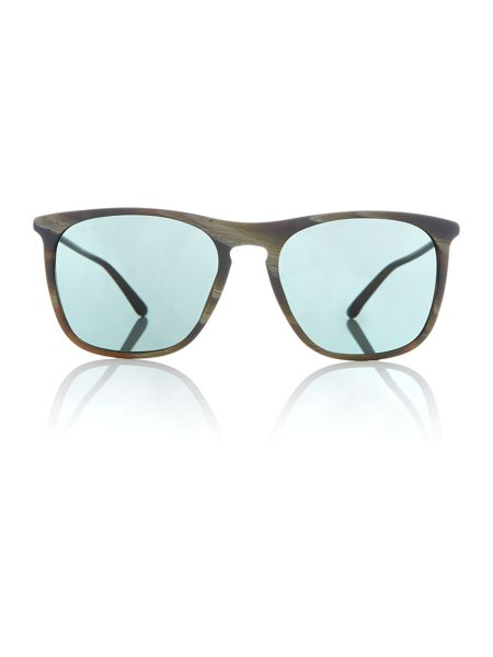 Giorgio Armani Sunglasses Green square AR8076 sunglasses