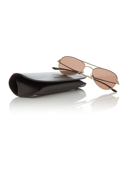 Giorgio Armani Sunglasses Gold aviator AR6035 sunglasses