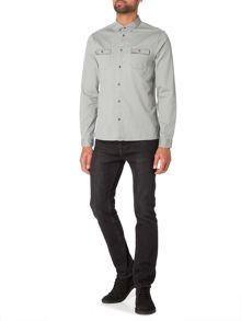 Label Lab Gabriel Heavy Twill Straight Hem Shirt