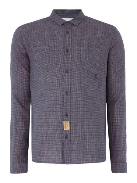 Label Lab Joe Mini Check Long Sleeve Shirt