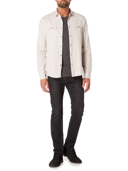 Label Lab Rover Slub Stone Wash Denim Shirt