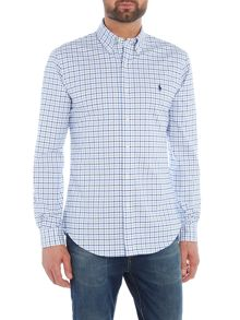 Polo Ralph Lauren Long Sleeve slim fit cotton stretch checked shirt