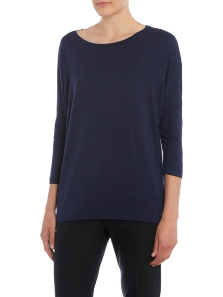 Max Mara Multib long sleeve jersey t shirt