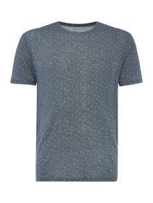 Label Lab Ditsy Diamond All Over Graphic Tee