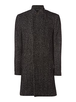 Churner Longline Herringbone Coat