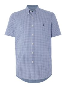 Polo Ralph Lauren Custom fit multi gingham short sleeve shirt