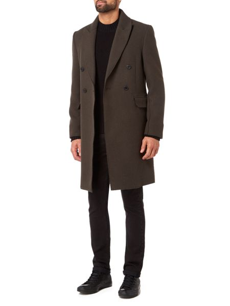 Label Lab Williams Military Style Coat