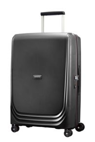 Samsonite Optic black 8 wheel 69cm medium suitcase