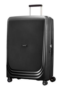 Samsonite Optic black 8 wheel 75cm large suitcase