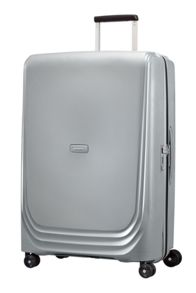 Samsonite Optic silver 8 wheel 75cm large suitcase