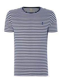 Polo Ralph Lauren Custom-Fit Stripe Crew-Neck T-Shirt
