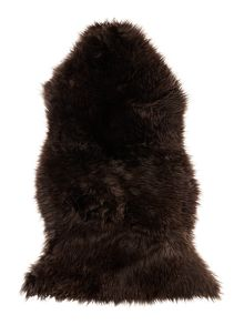 Linea Natural sheepskin, chocolate