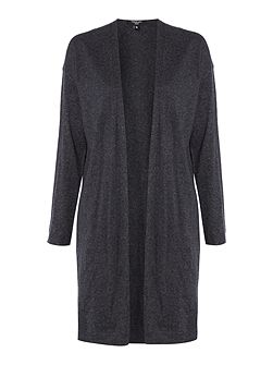 Olive Longline Knitted Cardigan