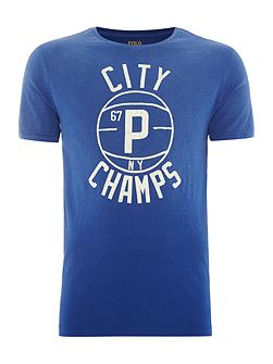City champs short sleeve crew
