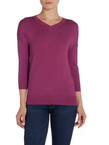 Max Mara Garza long sleeve v neck jumper