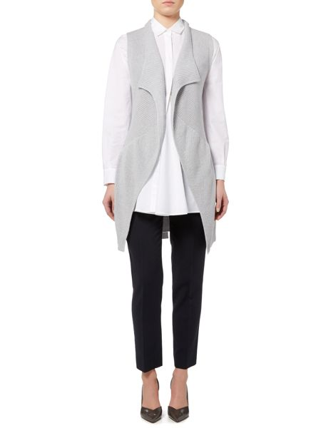 Max Mara Laura knitted belted waistcoat