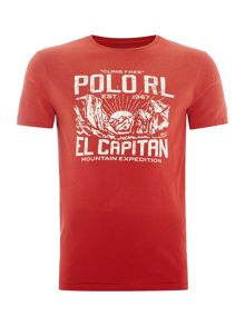 Polo Ralph Lauren Polo graphic crew neck tshirt
