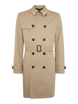 Dale showerproof classic trench coat