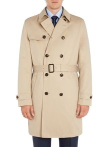 Howick Tailored Dale showerproof classic trench coat