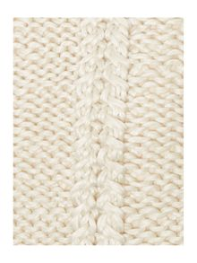 Linea Chunky knit cushion