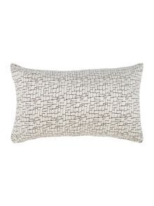 Linea Square velvet design cushion