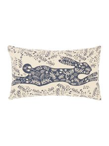 Linea Fable folk rabbit cushion