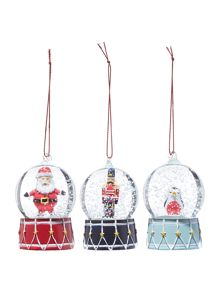 Linea Mini Snowglobe Tree Decorations