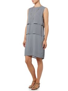 Gray & Willow Dora tier waist dress
