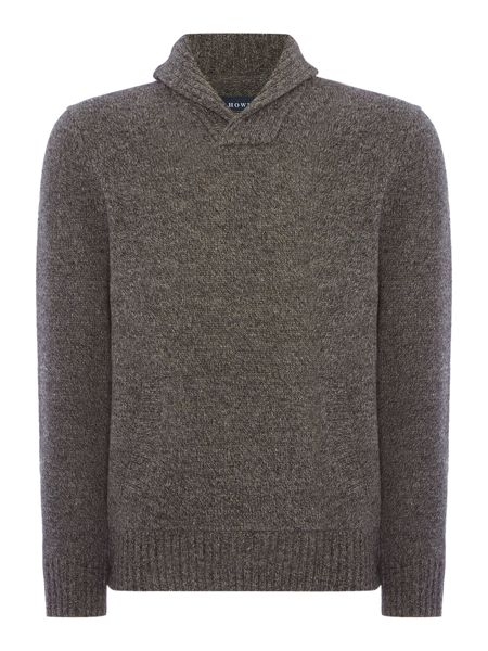 Howick Brunswick Shawl Neck Jumper