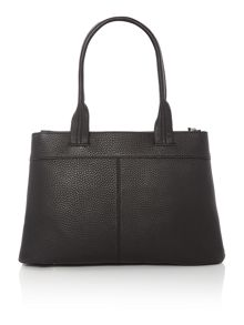 DKNY Tribeca black zip tote shoulder bag