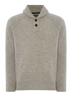 Highland Shawl Neck Jumper