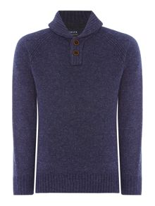 Howick Highland Shawl Neck Jumper