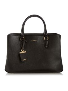 DKNY Chelsea black large tote bag