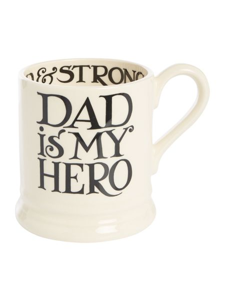 Emma Bridgewater Black Toast Fathers Day 1/2 Pint Mug Boxed
