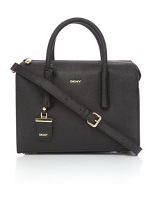 DKNY Saffiano black tote crossbody bag