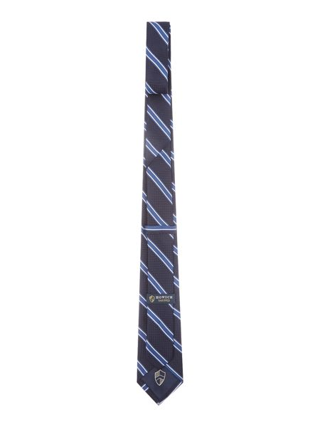 Howick Tailored Cheverly textured base classic stripe tie