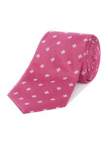 Howick Tailored Artondale textured base floral geo tie