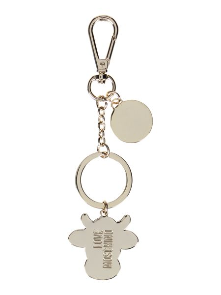 Love Moschino Multicolour cow keyring