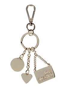 Love Moschino Multicolour handbag keyring