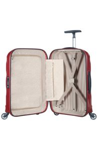 Samsonite Cosmolite 3.0 red 4 wheel 55cm cabin suitcase