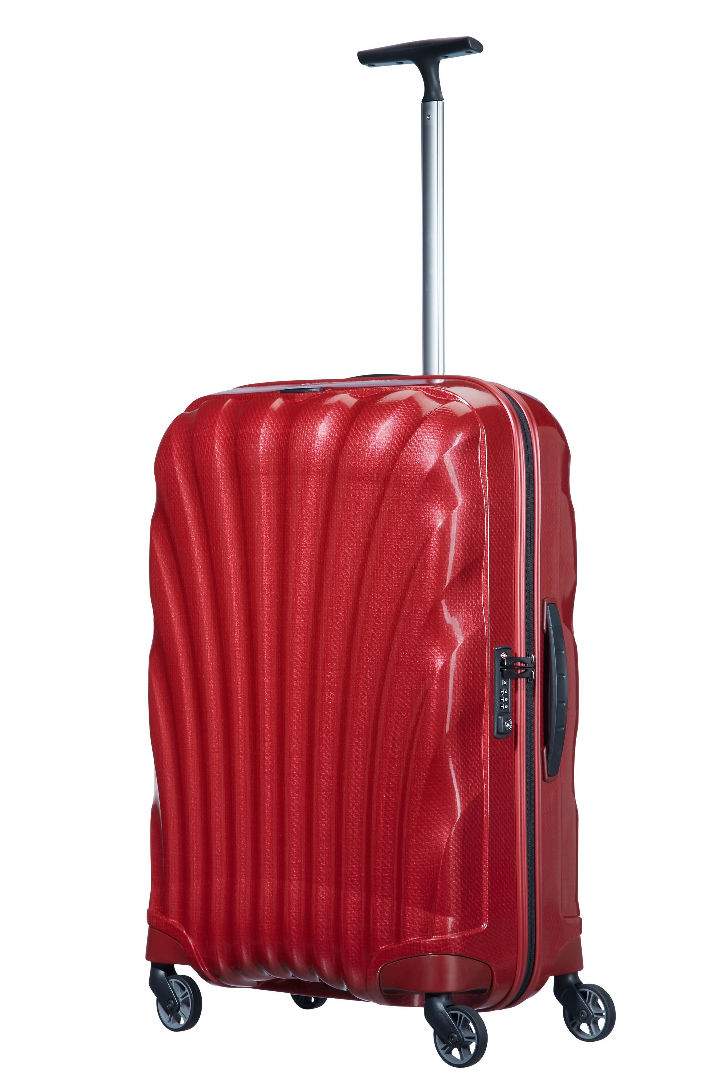 Samsonite Cosmolite 3.0 red 4 wheel 69cm medium suitcase Red