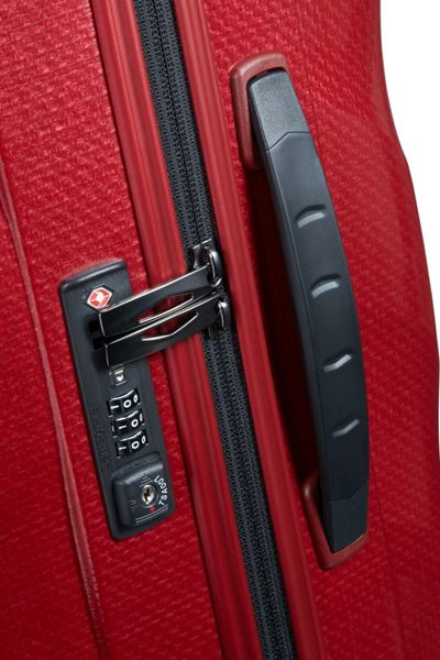 Samsonite Cosmolite 3.0 red 4 wheel 69cm medium suitcase