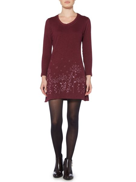 Brakeburn Winter Meadows Long Sleeve Dress
